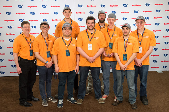 The Tigers from New York's Rochester Institute of Technology placed third in the 2015 National Collegiate Cyber Defense Competit